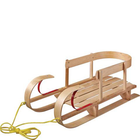 Paricon KinderSleigh Wooden Sled