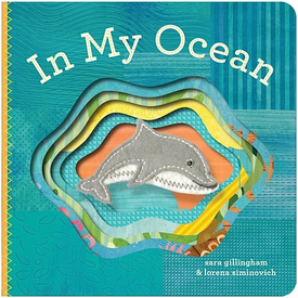 Chronicle In My Ocean Finger Puppet Board Book