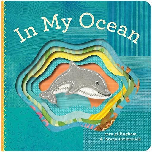 In My Ocean Finger Puppet Board Book