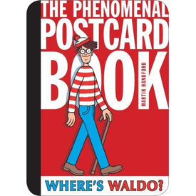 Candlewick Press Where's Waldo? The Phenomenal Postcard Book