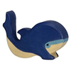 Holztiger Wooden Blue Whale - Small
