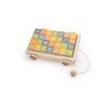 Uncle Goose Classic ABC blocks with Pull Wagon