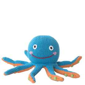 Zubel Knit Octopus - 6 inch