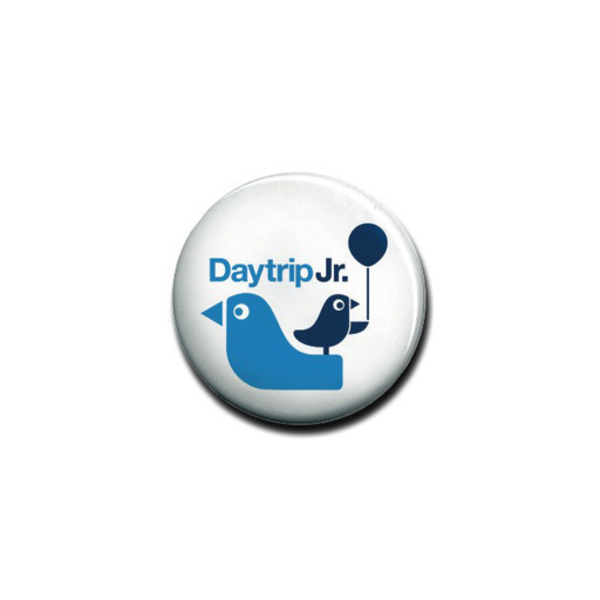 Daytrip Society Daytrip Jr. Logo Button