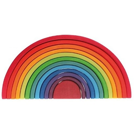 Grimms Grimms Rainbow Stacker - Large 12 Piece