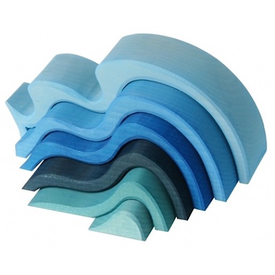 Grimms Grimms Water Waves Stacker Large