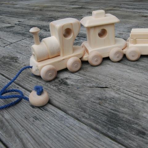Wooden Choo Choo Train