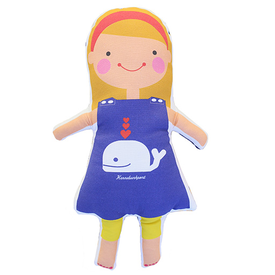 Sophie & Lili Sophie & Lili Kennebunkport Custom Doll Headband Blonde - Whale Dress