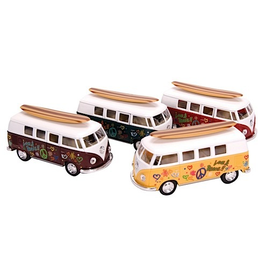 Schylling Die Cast 1962 VW Bus & Surfboard