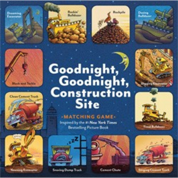 Chronicle Goodnight, Goodnight, Construction Site Matching Game