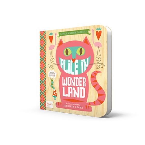 Gibbs Smith BabyLit - Alice In Wonderland - Board Book