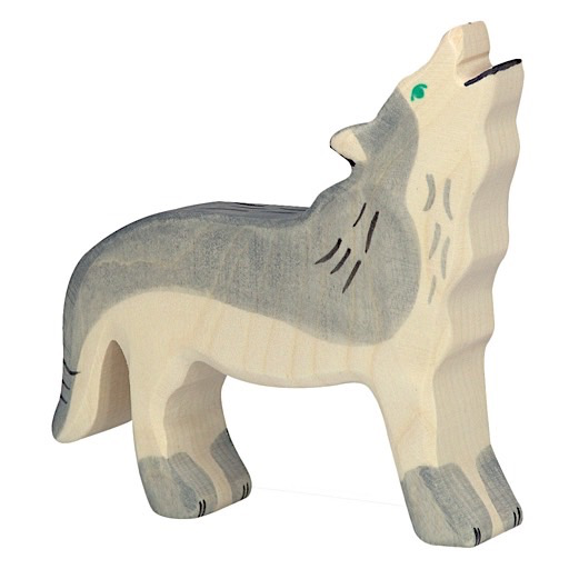 Holztiger Wooden Wolf - Howling