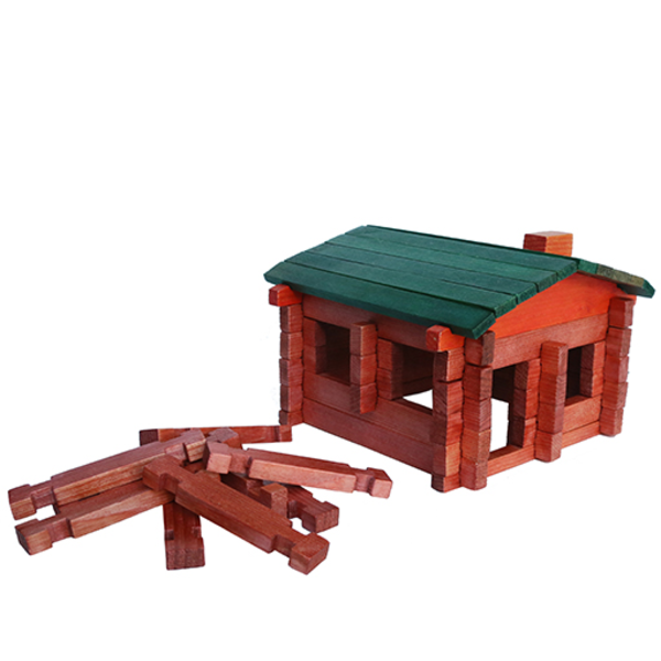 Roy Toy Daytrip Society Exclusive Maine Log Cabin Play Set