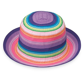 Wallaroo Hat Company Petite Nantucket Hat 54cm - Rainbow Tones