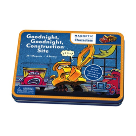 Galison Mudpuppy Magnetic Figures - Goodnight, Goodnight Construction Site