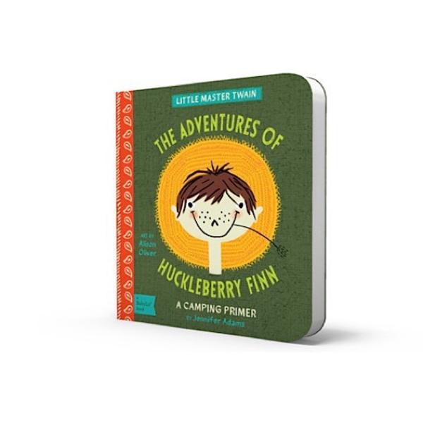 Gibbs Smith BabyLit - Adventures of Huckleberry Finn - Board Book