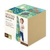 Petit Collage Nesting Blocks - Ocean ABC