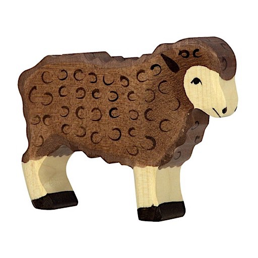Holztiger Wooden Sheep - Standing
