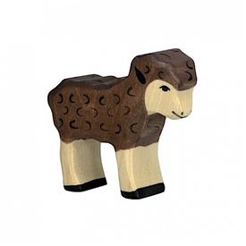 Holztiger Holztiger Wooden Sheep - Brown Baby