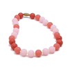 Chewbeads Bleeker Jr Glow-in-the-Dark Necklace - Bubble Gum
