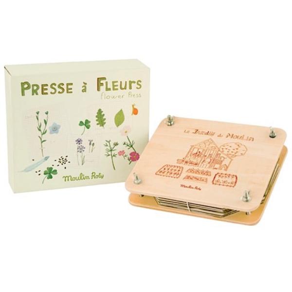 Moulin Roty Flower Press Kit