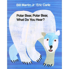 Macmillan Polar Bear, Polar Bear, What Do You Hear? - Board Book