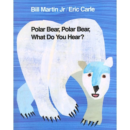 Polar Bear, Polar Bear, What Do You Hear? - Board Book