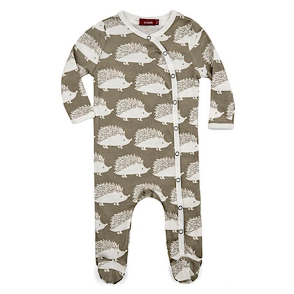Milkbarn Milkbarn Organic Cotton Footed Romper