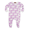 Milkbarn Organic Cotton Footed Romper