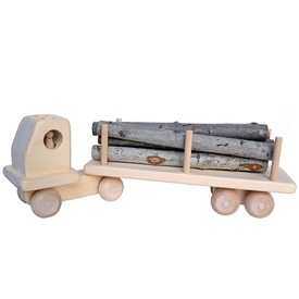 Maine Toys Wooden Large Log Truck