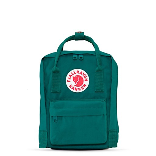 Fjallraven Arctic Fox LLC Fjallraven Kanken Mini Backpack - Ocean Green