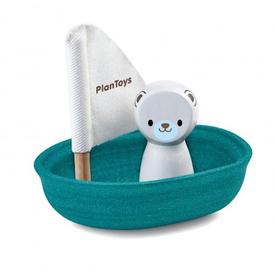 Plan Toys Plan Toys Sailing Boat - Polar Bear