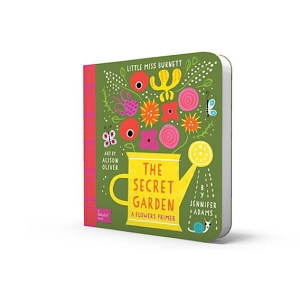 Gibbs Smith BabyLit - The Secret Garden - Board Book