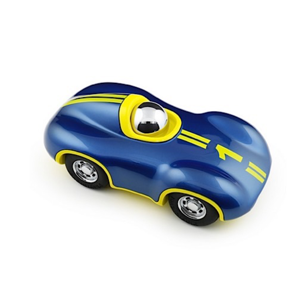 Playforever Playforever Mini Speedy Car - Blue/Yellow/Chrome