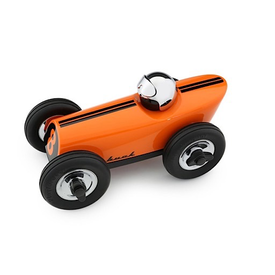 Playforever Playforever Midi 3 Race Car Buck - Orange/Chrome