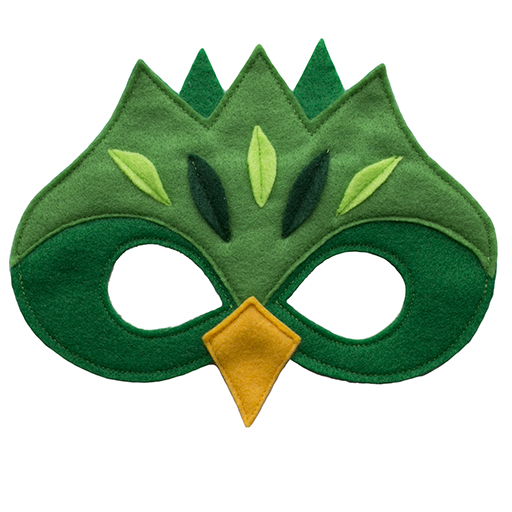 Tree and Vine - Magical Creature Mask