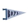 Strawberry Moth Wool Pennant Flag - Boys