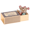 Maileg Mouse - Twins in a Box - Polka Dot