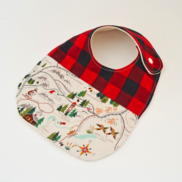 Two Little Beans & Co. Two Little Beans Baby Bib