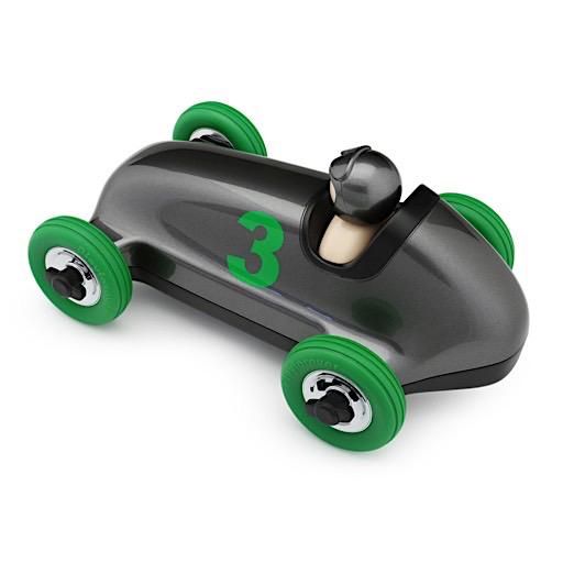 Playforever Bruno Roadster - Gun Metal/Green