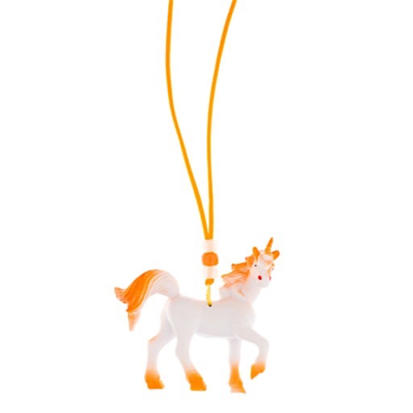 Little Lux Little Lux Anaranjado The Unicorn Necklace