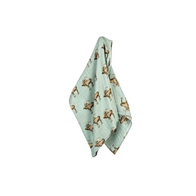 Milkbarn Milkbarn Bamboo/Cotton Swaddle Blanket - Moose