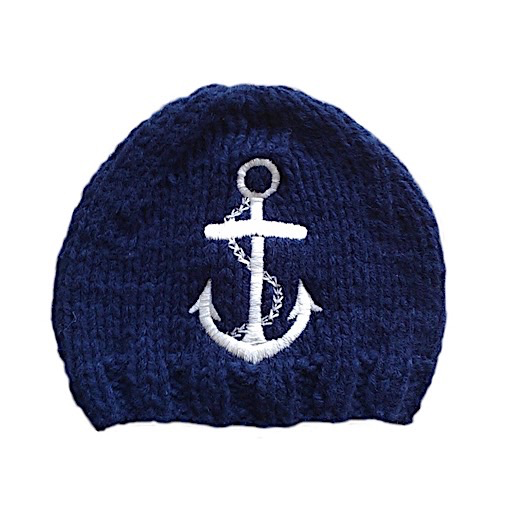 The Blueberry Hill The Blueberry Hill Baby Hat Hudson Anchor