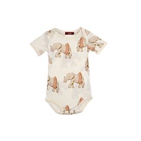 Milkbarn Milkbarn Bamboo Short Sleeve One-Piece