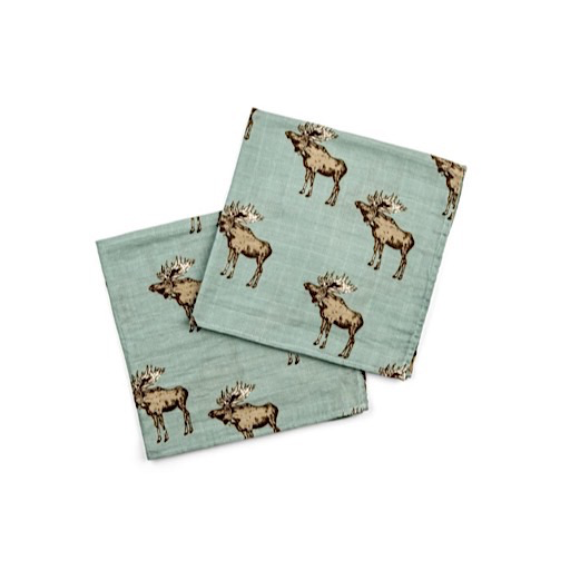 Milkbarn Milkbarn Bamboo Burpee Bundle - Moose