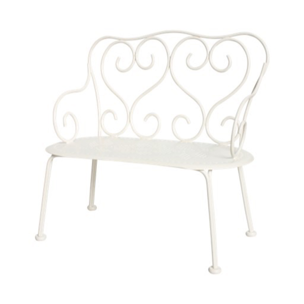 Maileg Maileg Romantic Bench - Off White