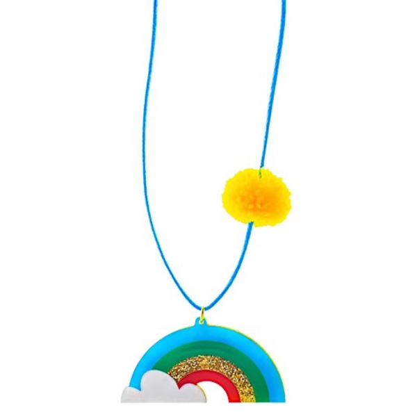 Little Lux Little Lux Rainbows Are The Best Necklace