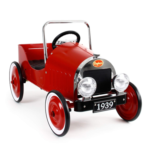 Playforever Baghera Classic Pedal Car - Red
