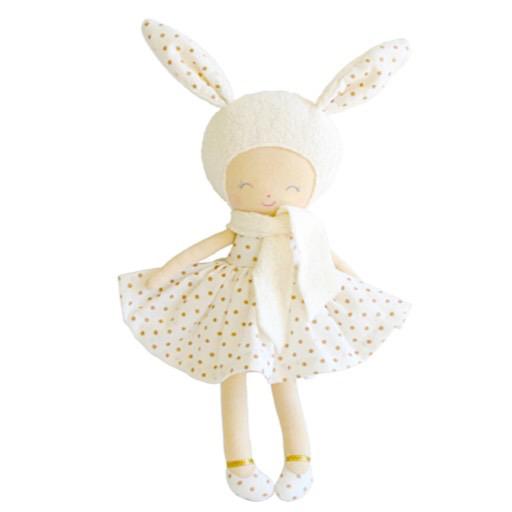 Alimrose Belle Bunny Girl - Gold Spot