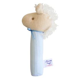 Alimrose Alimrose Horse Squeaker - Blue Stripe